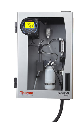 water analyzer / chlorine / concentration / for integration