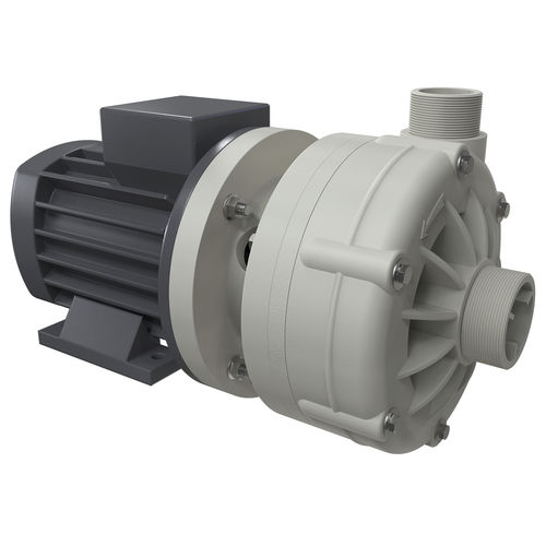 horizontal mount pump / for chemicals / with electric motor / centrifugal