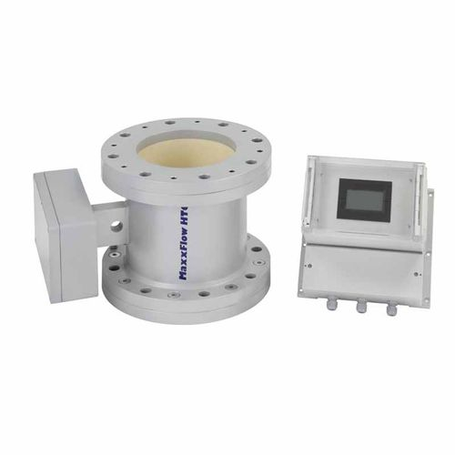 electromagnetic flow meter / positive displacement / non-contact / for solids