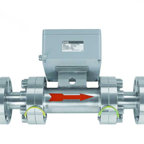 electromagnetic flow meter / mass / non-contact / for solids