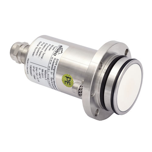 solid humidity sensor / in-line / for bulk materials / microwave
