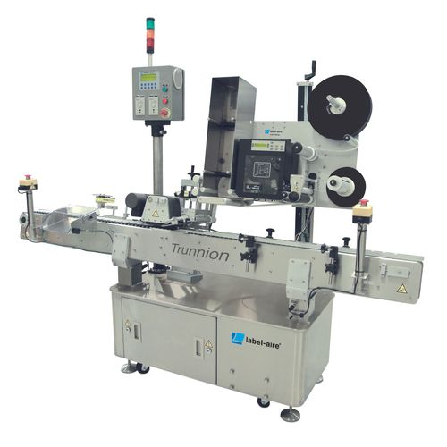 automatic labeler / top / in-line / high-speed
