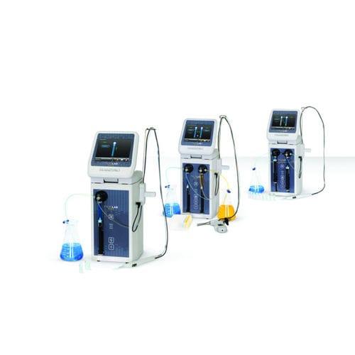 laboratory dosing dispenser / syringe / gravimetric / liquid