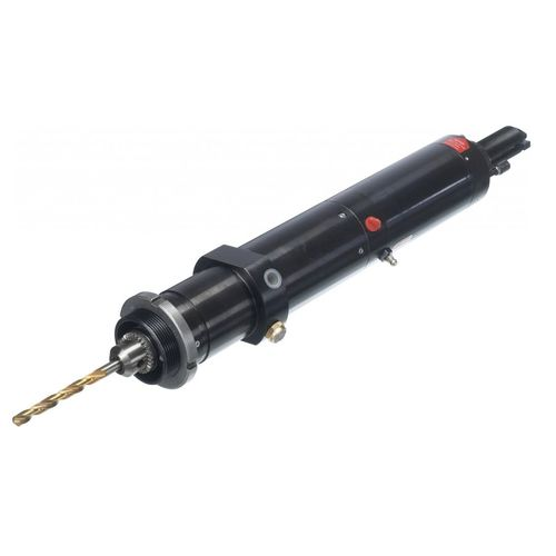 pneumatic drilling unit / hydraulic / single-spindle