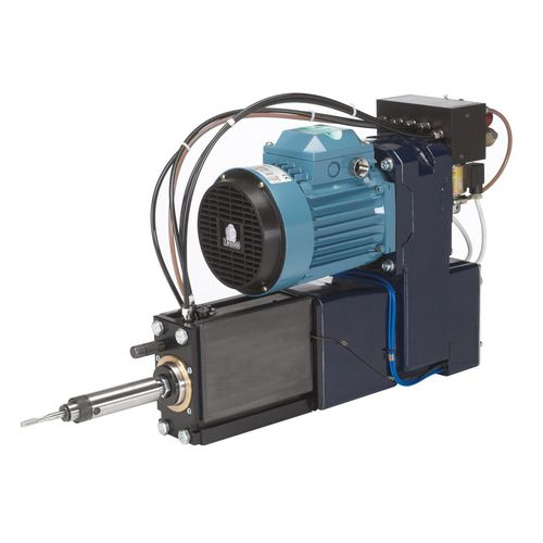 electro-hydraulic tapping unit