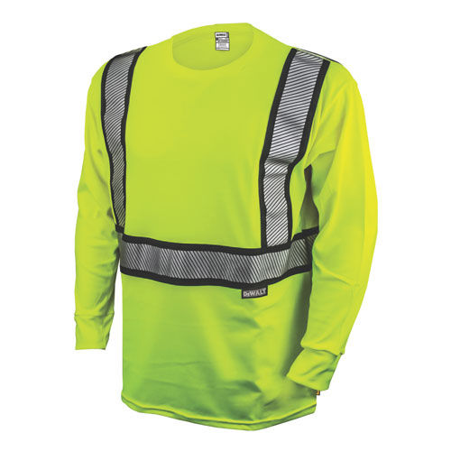 work T-shirt / high-visibility / polyester / cotton