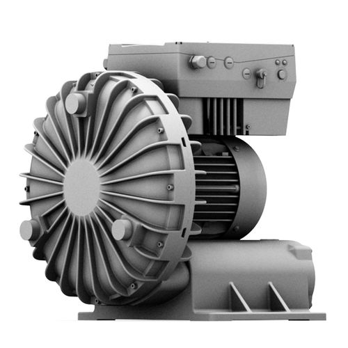 air blower / side-channel / single-stage / with frequency converter