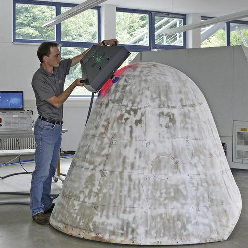 shearography inspection device