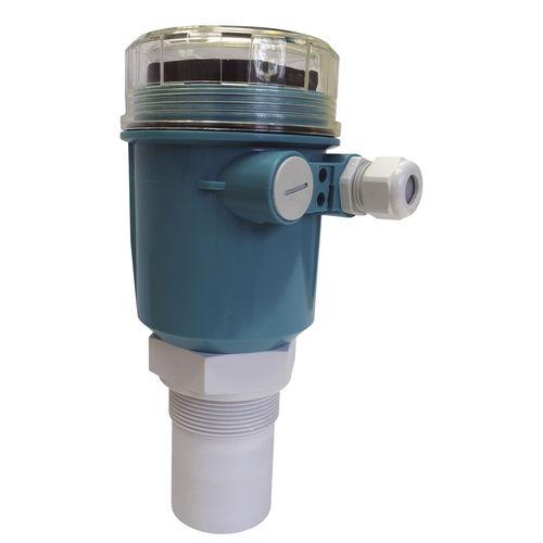 ultrasonic level transmitter / for liquids / for solids / HART