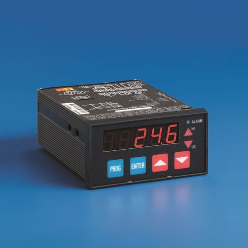 programmable indicator / temperature / flow / humidity