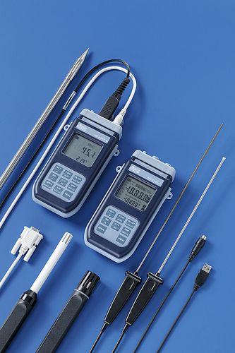 digital thermo-hygrometer / portable / relative humidity / temperature