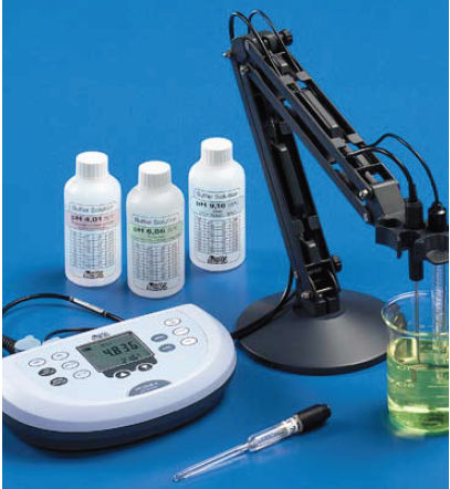 temperature measuring instrument / pH/oxidation-reduction / conductivity / electrochemical