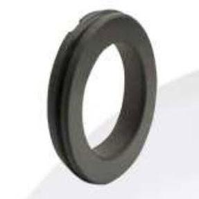 O-ring seal / circular / rubber / carbon