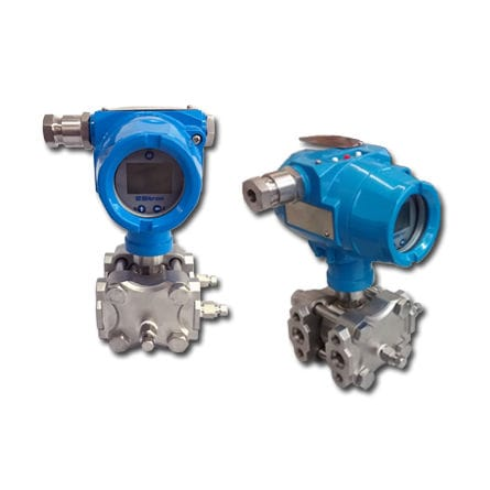 differential pressure transmitter / silicon / piezoresistive / with analog output