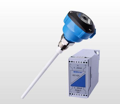 capacitive level transmitter / for solids / for liquids / 2-wire
