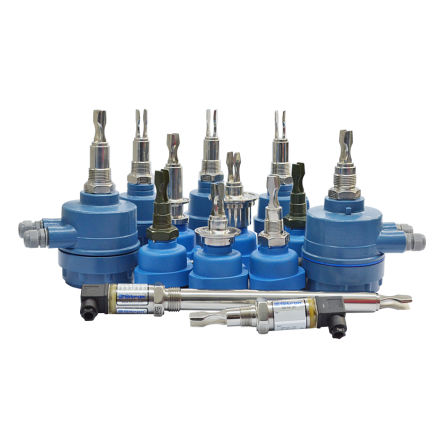 vibrating level switch / for liquids / multi-point / stainless steel