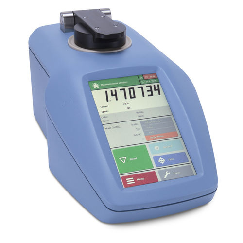 digital refractometer / with temperature control