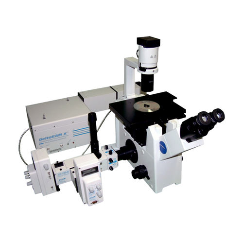 measuring microscope / fluorescence / high-speed