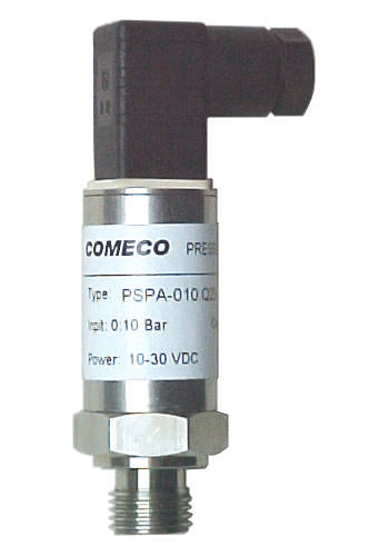 absolute pressure transmitter / membrane / CANopen / compact