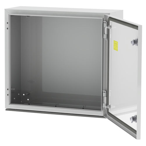 wall-mounted electrical enclosure / steel / power distribution / for low-voltage power distribution