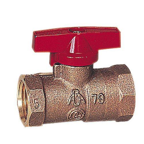 ball valve / manual / control / for gas