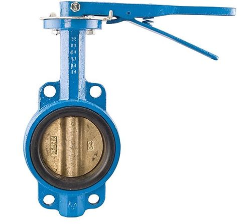 butterfly valve / lever / control / for slurry