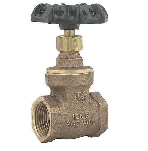 gate valve / manual / shut-off / for water