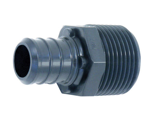 hydraulic adapter / reducing / for pipes / threaded