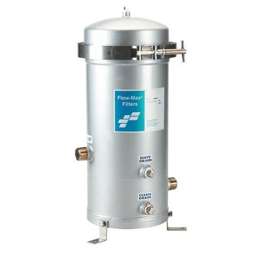multi-cartridge filter housing / for liquids / stainless steel