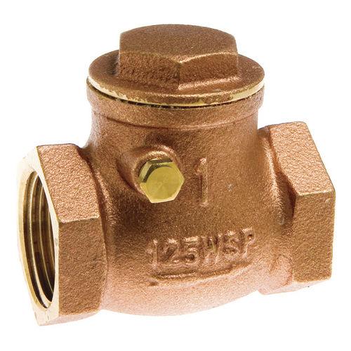 swing check valve / brass