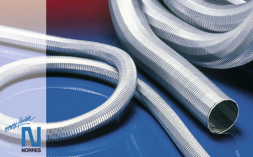 air hose / for explosive areas / stainless steel / abrasion-resistant