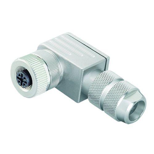 data connector / electrical power supply / elbow / circular