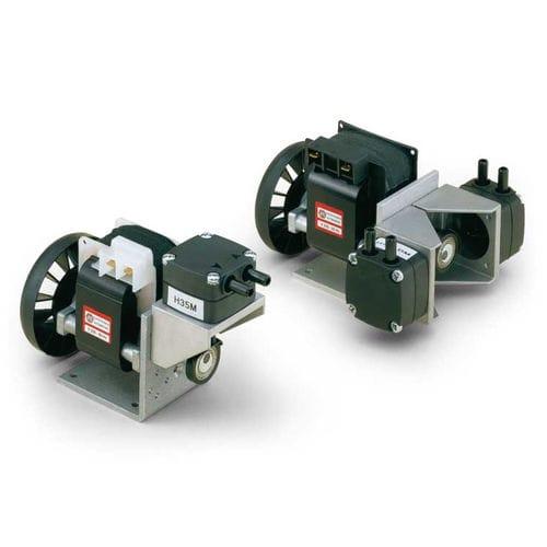 diaphragm vacuum pump / oil-free / single-stage / air-cooled