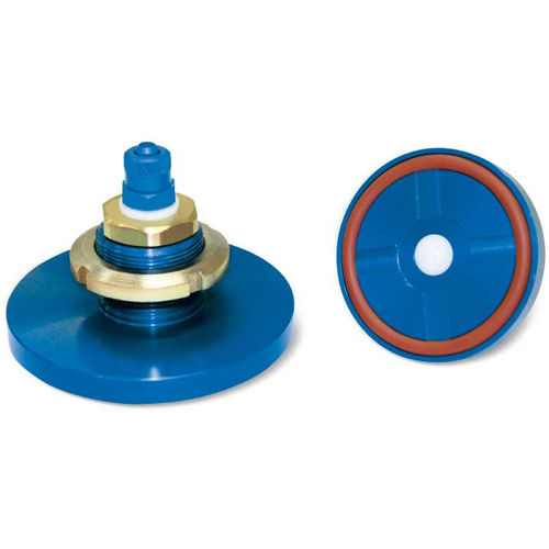 circular suction cup / flat / handling / silicone