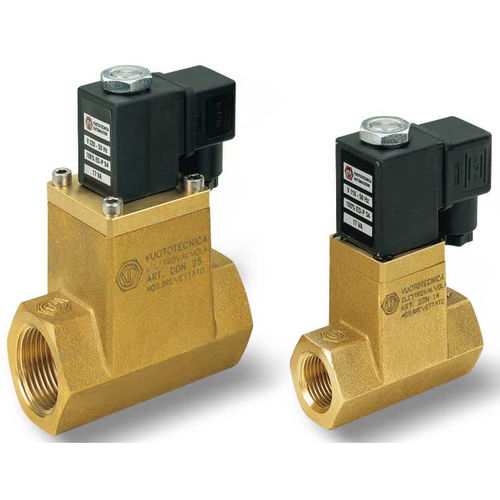 direct-operated solenoid valve / 2-way / NC / air