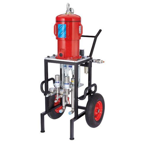paint pump / pneumatic / piston / industrial