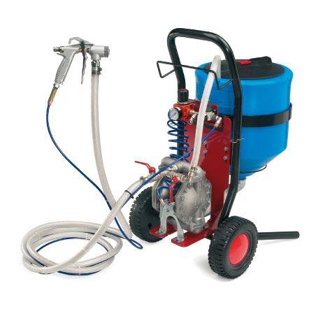 paint pump / pneumatic / double-diaphragm / industrial