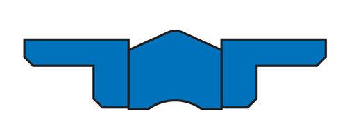 V-ring seal / piston
