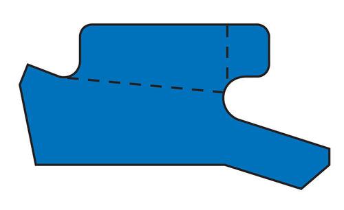 O-ring seal / polyurethane / rod