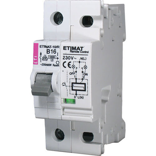 MCB circuit breaker / thermal / overcurrent / single-phase