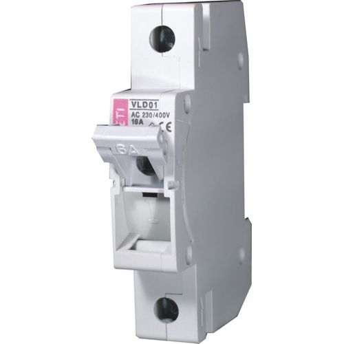 low-voltage disconnect switch / DIN rail / modular / with D0 fuse
