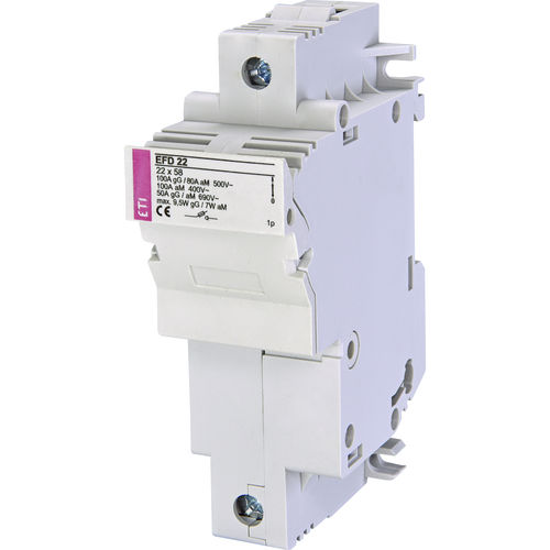 fuse switch disconnector / low-voltage / DIN rail / modular