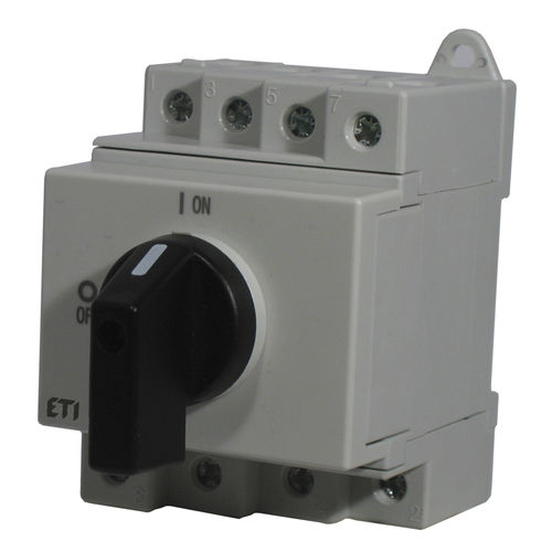 rotary disconnect switch / low-voltage / DC / for photovoltaic applications