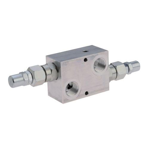 flange pressure relief valve / in-line / plug / differential