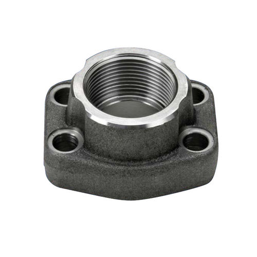 SAE flange / for pipes / joining / steel