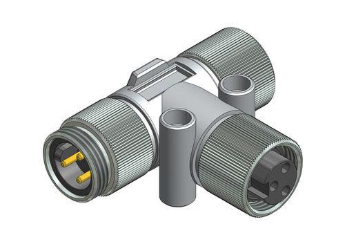 male adapter / female / PVC