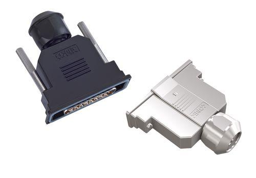D-Sub connector hood