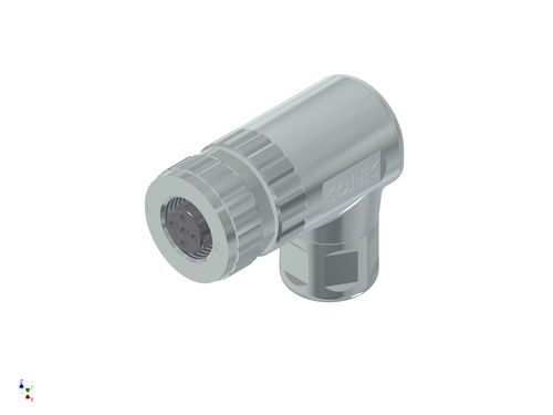 data connector / screw / M12