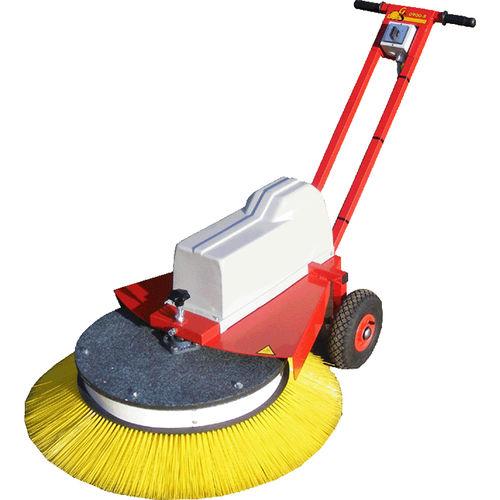 walk-behind sweeper / electric