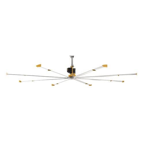 ceiling-mounted fan